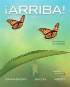 ¡arriba!: Comunicación Y Cultura, Brief Edition, 2015 Release Plus Myspanishlab -- Access Card…