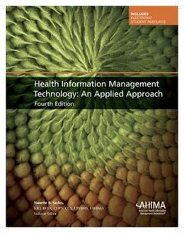 Book Health Information Management Technology: An Applied Approach by Ahima