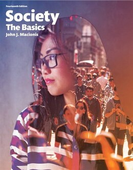 Book Society: The Basics, Books A La Carte Edition Plus New Mysoclab For Introduction To Sociology… by John J Macionis
