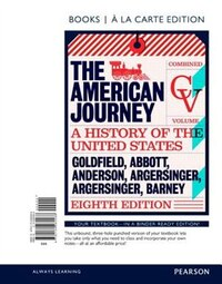 American Journey, The, Combined Volume, Books A La Carte Edition