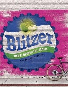 Book Developmental Mathematics Plus Mymathlab -- Access Card Package by Robert F. Blitzer