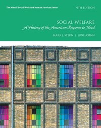 Social Welfare: A History Of The American Response To Need, With Enhanced Pearson Etext -- Access…