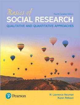 Book Basics Of Social Research, Fourth Canadian Edition by Lawrence W Neuman