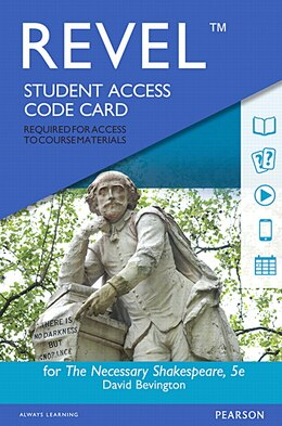 Book Revel For The Necessary Shakespeare -- Access Card by David Bevington