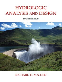 Book Hydrologic Analysis And Design by Richard H. McCuen
