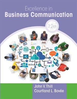 Excellence in business communication book by john v thill excellence in business communication by john v thill fandeluxe Gallery