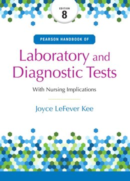 Book Pearson's Handbook Of Laboratory And Diagnostic Tests by Joyce L. Kee