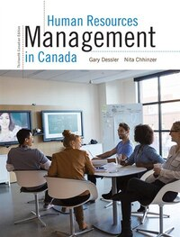 Human Resources Management In Canada, Thirteenth Canadian Edition Plus Mymanagementlab Xl With…