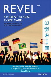 Revel For How The World Works: A Brief Survey Of International Relations -- Access Card