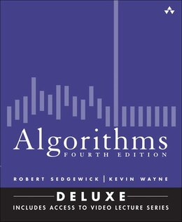 Book Algorithms, Fourth Edition (deluxe): Book And 24-part Lecture Series by Robert Sedgewick