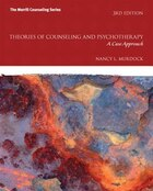 Theories Of Counseling And Psychotherapy: A Case Approach Mycounselinglab Without Pearson Etext…