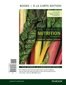 Book The Science Of Nutrition, Books A La Carte Edition by Janice J. Thompson