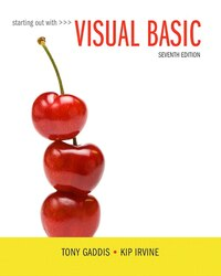 Starting Out With Visual Basic