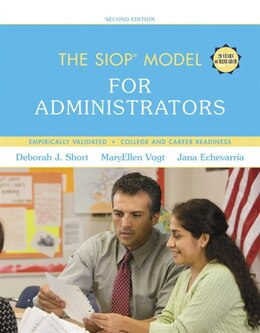 Book The Siop Model For Administrators With Enhanced Pearson Etext -- Access Card Package by Deborah J. Short