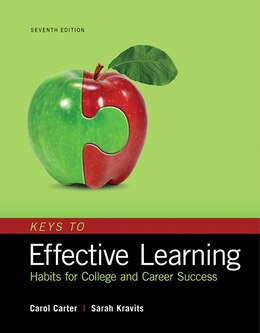Book Keys To Effective Learning: Habits For College And Career Success by Carol Carter