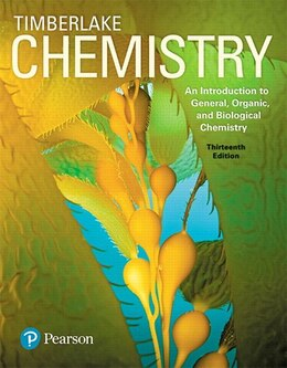 Book Chemistry: An Introduction To General, Organic, And Biological Chemistry Plus Masteringchemistry… by Karen C Timberlake