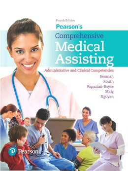 Book Pearson's Comprehensive Medical Assisting by Nina Beaman