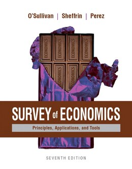 Book Survey Of Economics: Principles, Applications, And Tools Plus Myeconlab With Pearson Etext (1… by Arthur O'sullivan