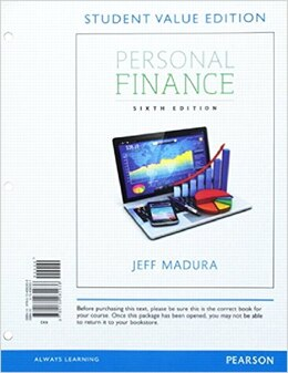 Book Personal Finance, Student Value Edition Plus Myfinancelab With Pearson Etext -- Access Card Package by Jeff Madura