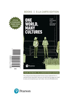 Book One World, Many Cultures, Books A La Carte by Stuart Hirschberg
