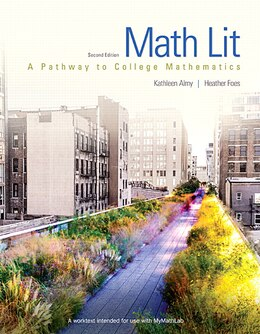 Book Math Lit by Kathleen Almy