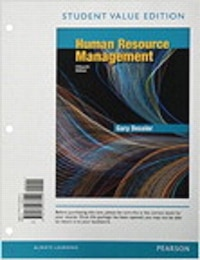 Human Resource Management, Student Value Edition Plus Mymanagementlab With Pearson Etext -- Access…
