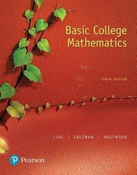 Basic College Mathematics Plus Pearson Mylabs Math With Pearson Etext -- Access Card Package