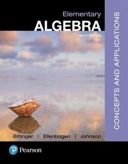 Book Elementary Algebra: Concepts And Applications Plus Mymathlab -- Access Card Package by Marvin L. Bittinger