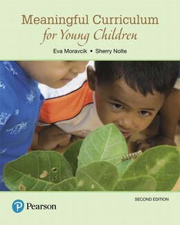 Book Meaningful Curriculum For Young Children by Eva Moravcik