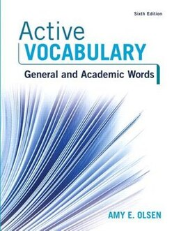 Book Active Vocabulary Plus Myreadinglab -- Access Card Package by Amy E. Olsen