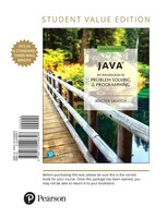 Java: An Introduction To Problem Solving And Programming, Student Value Edition