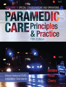 Book Paramedic Care: Principles & Practice, Volume 5 by Bryan E. Bledsoe