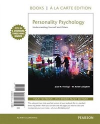 Personality Psychology: Understanding Yourself And Others, Books A La Carte Edition
