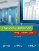 Statistics For Managers Using Microsoft Excel Plus Mystatlab With Pearson Etext -- Access Card…