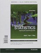 Essential Statistics, Books A La Carte Edition Plus Mystatlab With Pearson Etext -- Access Card…