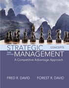 Strategic Management: A Competitive Advantage Approach, Concepts Plus Mymanagementlab With Pearson…