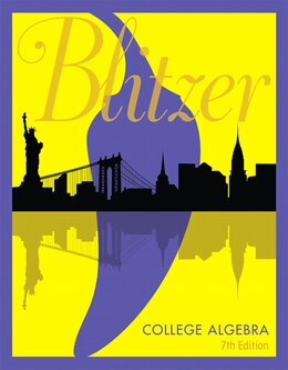 Book College Algebra by Robert F. Blitzer