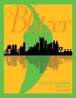 Book College Algebra Essentials by Robert F. Blitzer
