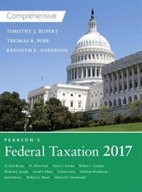 Book Pearson's Federal Taxation 2017 Comprehensive Plus Myaccountinglab With Pearson Etext -- Access… by Thomas R. Pope