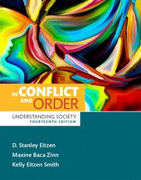 In Conflict And Order: Understanding Society,  Plus New Mysoclab For Introduction To Sociology…