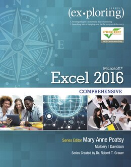 Book Exploring Microsoft Office Excel 2016 Comprehensive by Mary Anne Poatsy