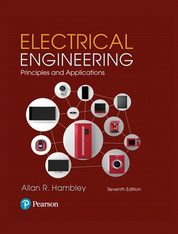 Book Electrical Engineering: Principles & Applications by Allan R. Hambley