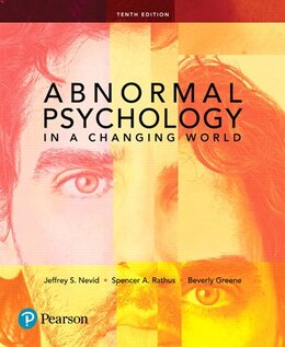 Book Abnormal Psychology In A Changing World by Jeffrey S. Nevid