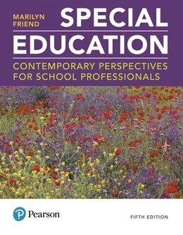 Book Special Education: Contemporary Perspectives For School Professionals Plus Myeducationlab With… by Marilyn Friend