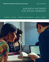 Research Methods For Social Workers With Myeducationlab With Enhanced Pearson Etext -- Access Card…
