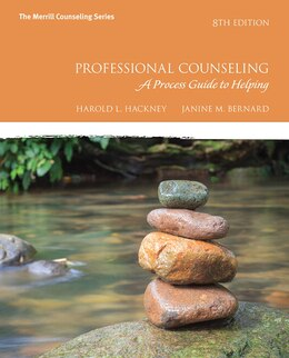 Book Professional Counseling: A Process Guide To Helping With Mycounselinglab With Pearson Etext… by Harold L. Hackney