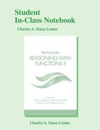 Student In-class Notebook For Reasoning With Functions Ii