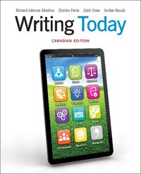 Writing Today, First Canadian Edition Plus Mywritinglab With Pearson Etext -- Access Card Package