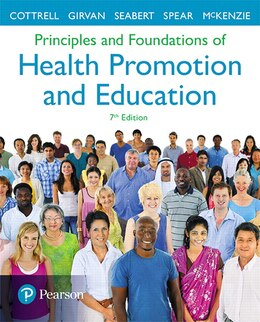 Book Principles And Foundations Of Health Promotion And Education by Randall R. Cottrell