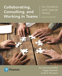Collaborating, Consulting And Working In Teams For Students With Special Needs With Enhanced…